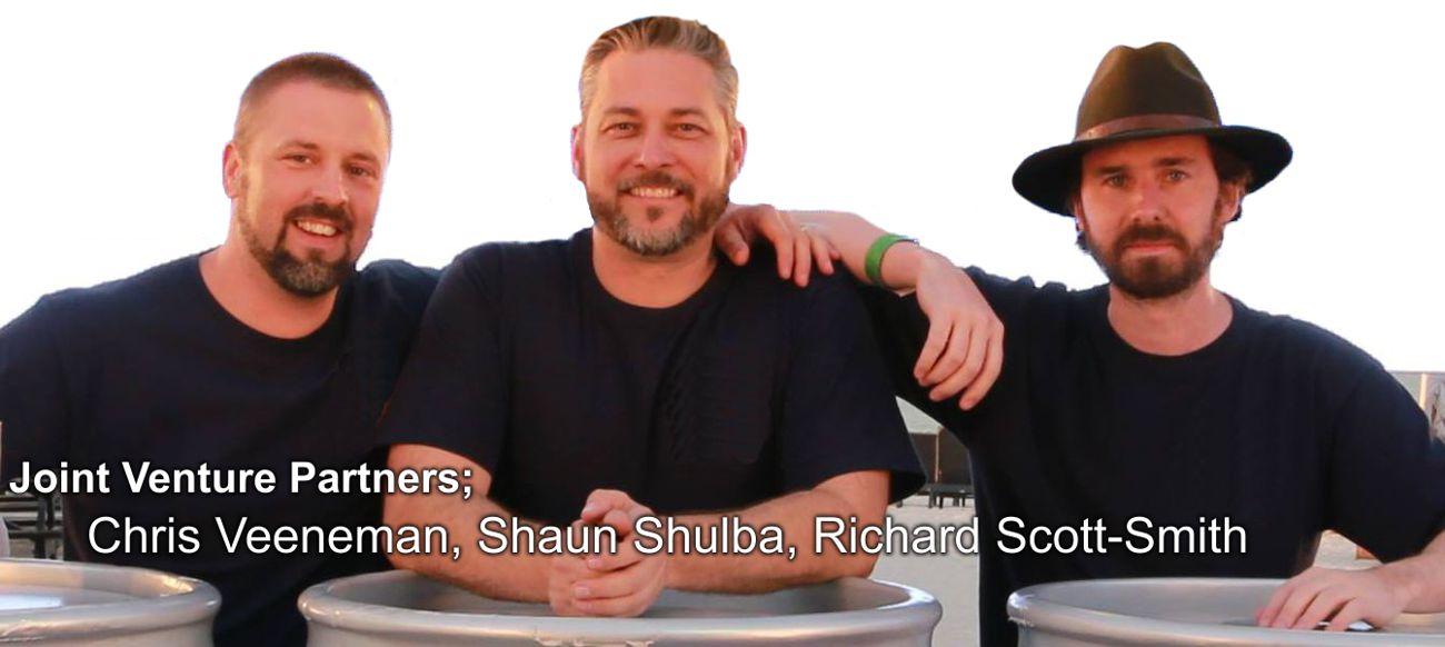Founding Partners Chris Veeneman, Shaun Shulba, Richard Scott-Smith